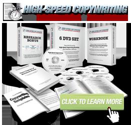 High-Speed Copywriting
